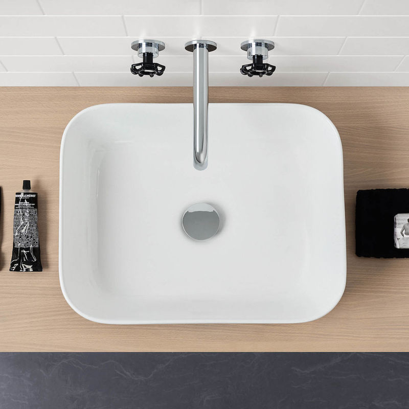 ARTISAN ABOVE COUNTER BASIN RECTANGLE 490X380X150MM 874500W