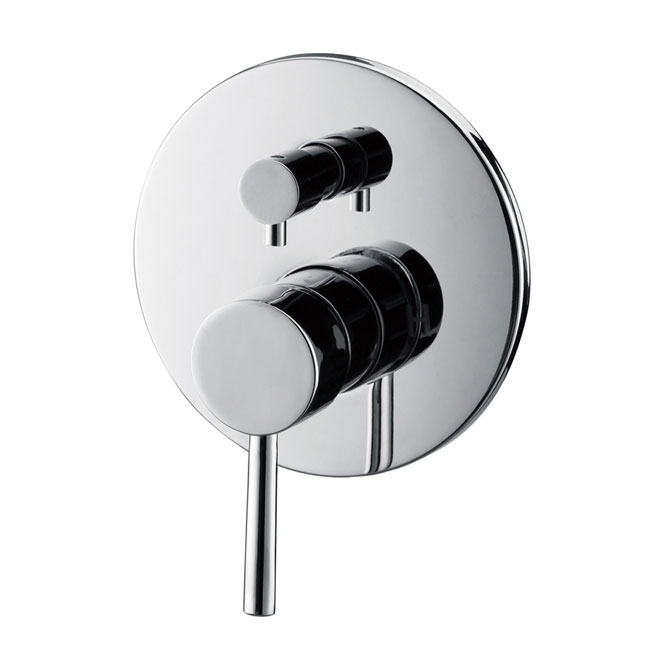 ISABELLA PIN WALL MIXER WITH DIVERTER