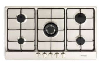 BELLISSIMO 90CM GAS COOKTOP WITH WOK BURNER
