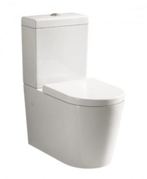 ALBANY WALL FACED TOILET SUITE WITH S/CLOSE SEAT