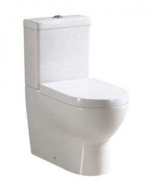 AVON WALL FACED TOILET SUITE WITH S/CLOSE SEAT