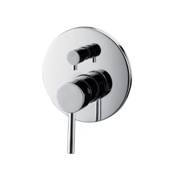FIENZA ISABELLA WALL MIXER WITH DIVERTER CHROME