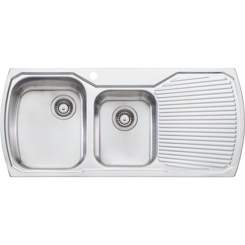 MONET 1.75 BOWL SINK WITH DRAINER LHB MO711B