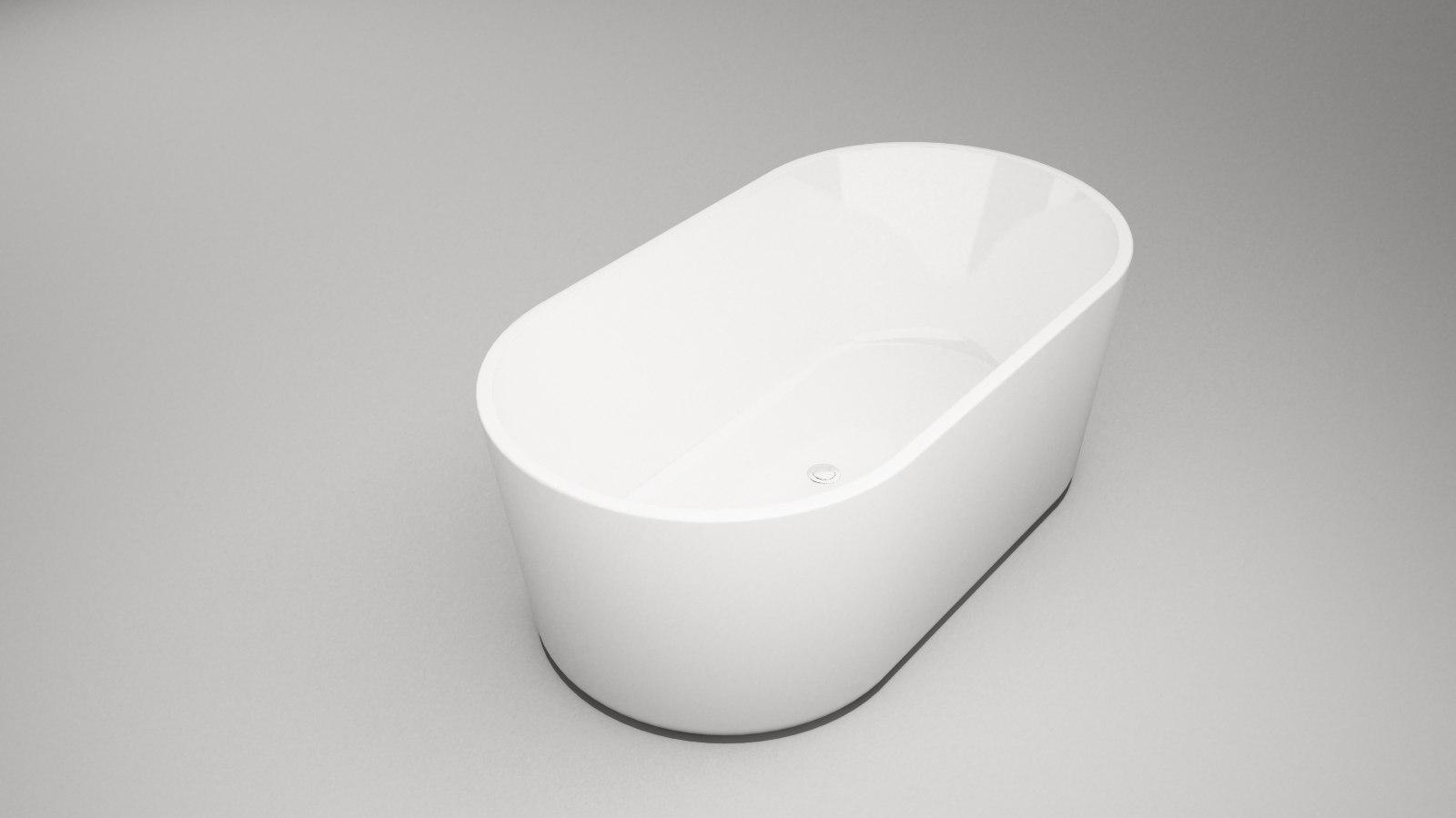 DECINA PREZZO FREESTANDING BATH 1500X800X530MM PR1500W
