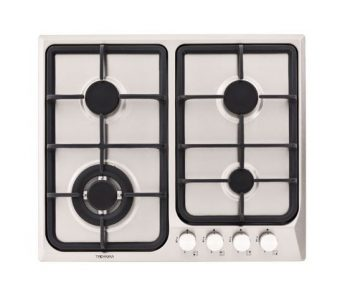 TECHNIKA 60CM GAS COOKTOP WITH CAST IRON TRIVETS
