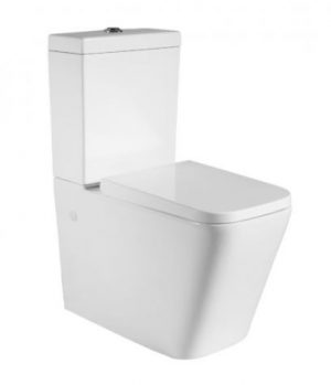 YUKON WALL FACED TOILET SUITE WITH S/CLOSE SEAT