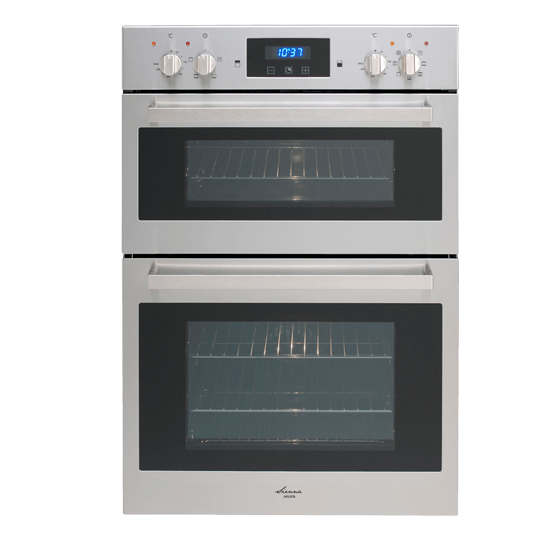 EURO 60CM DOUBLE ELECTRIC BUILT IN OVEN
