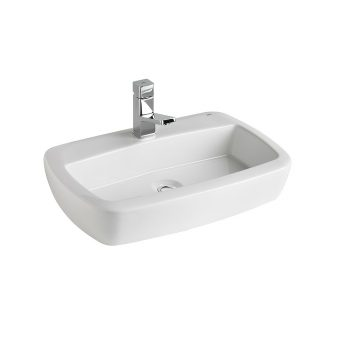 STREAMLINE EOS ABOVE COUNTER VANITY BASIN 600X400MM