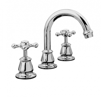 LINKWARE NOOSA BASIN SET WITH OPTIONAL WHITE OR CHROME BELLS Product Image 1