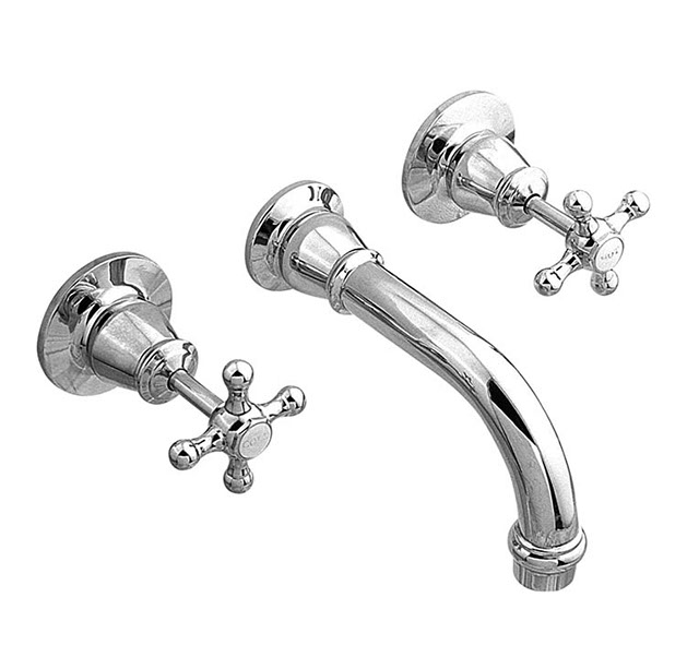 NOOSA BATH SET OPTIONAL WHITE OR CHROME BELLS