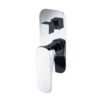 FIENZA LUCIANA WALL MIXER WITH DIVERTER CHROME