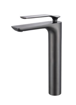STREAMLINE SYNERGII EXTENDED HEIGHT BASIN MIXER GUN METAL Product Image 1
