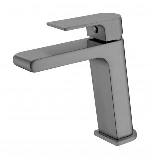 VITRA BASIN MIXER GUN METAL GREY