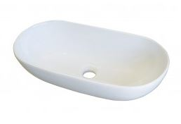 AUSSIELIFE OVAL ABOVE COUNTER BASIN 580X375MM