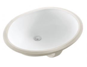 AUSSIELIFE OVAL UNDER COUNTER BASIN 460X345MM