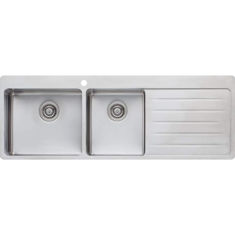 SONETTO 1.75 BOWL SINK WITH DRAINER LHB SN1011