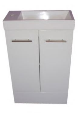 A-LINE SLIMLINE POWDER ROOM VANITY 500X250MM