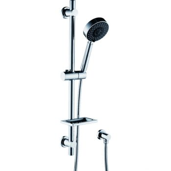 FIENZA STELLA FIVE FUNCTION RAIL SHOWER CHROME