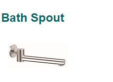 BATH SPOUT TUBE PROFILE - SWIVEL OUTLET