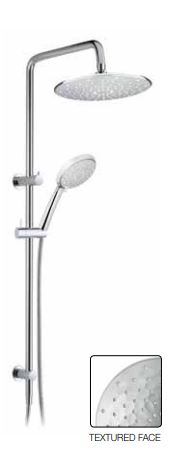 GRACOTT PEARL ESSENCE TWIN SHOWER SYSTEM CHROME