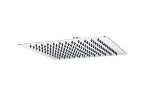 AUSSIELIFE 250X250MM SQUARE STAINLESS STEEL THIN SHOWER HEAD