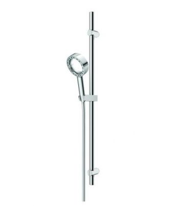 AQUAS X-JET SINGLE RAIL SHOWER CHROME