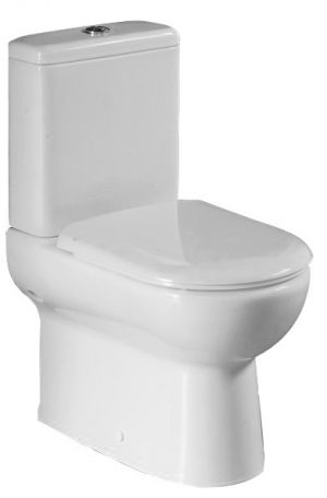 ARGENT MODE BACK TO WALL TOILET SUITE WITH S/CLOSE SEAT