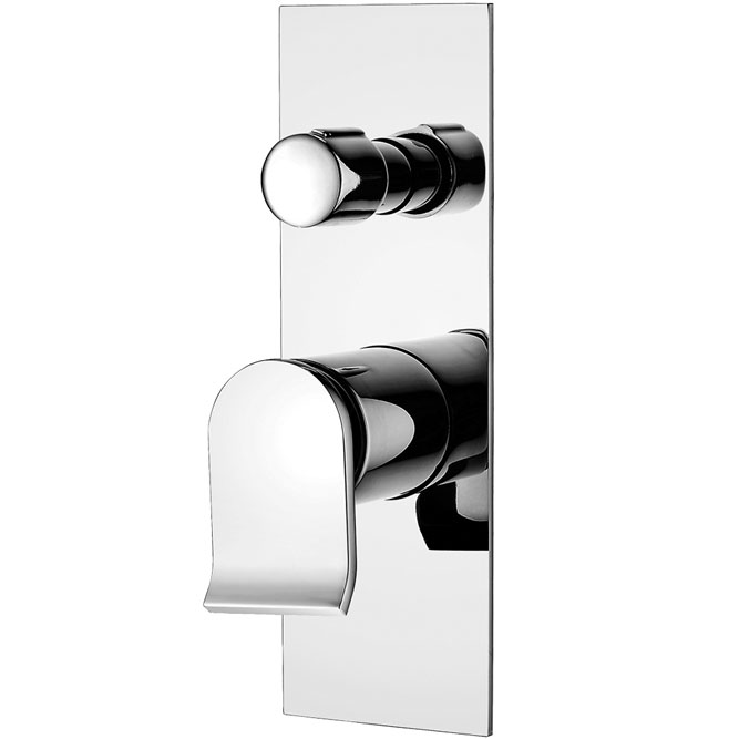 Lincoln Wall Mixer With Diverter
