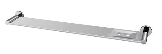 ROUND STAINLESS STEEL SHELF 600MM 5090-2