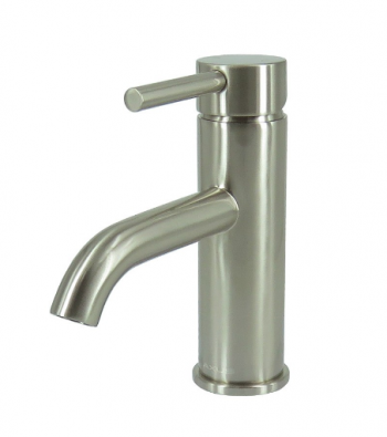 STREAMLINE AXUS PIN LEVER BASIN MIXER SATIN NICKEL