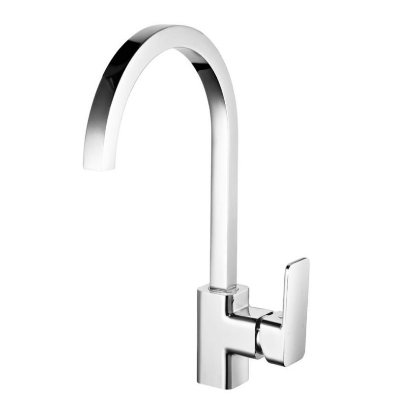 AXUS SINK MIXER_SATIN NICKEL AX01250SN (WELS 6*4L) Product Image 1
