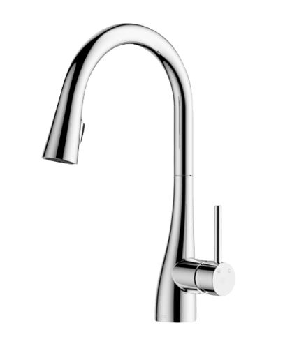 ABEY CONIC PULL OUT KITCHEN SINK MIXER CHROME