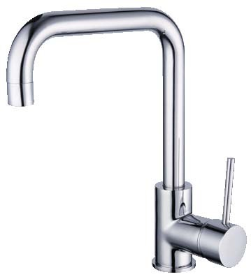 HELLYCAR IDEAL SINK MIXER SQUARE GOOSENECK CHROME Product Image 1
