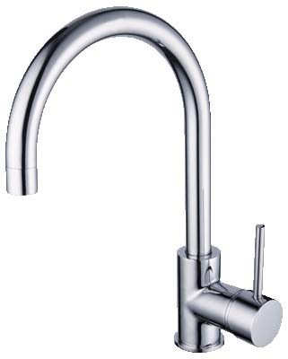 HELLYCAR IDEAL SINK MIXER WITH ARCHED GOOSENECK CHROME Product Image 1
