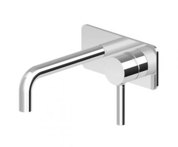 STREAMLINE ZUCCHETTI PAN WALL MOUNTED SET CHROME
