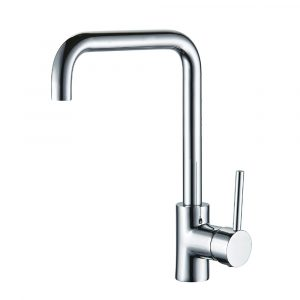 AXUS PIN LEVER SINK MIXER WITH SQUARE GOOSENECK ROSE GOLD