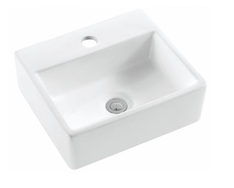 ALBANY MINI COUNTER/WALL BASIN 340X290MM Product Image 1