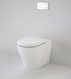 CAROMA LUNA CLEANFLUSH INVISI SERIES II WALL FACED TOILET SUITE