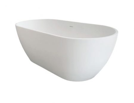 SYNERGII 1500MM ACRYLIC FREESTANDING BATH MATTE WHITE