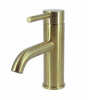 STREAMLINE AXUS PIN LEVER BASIN MIXER BRUSHED BRASS Product Image 2
