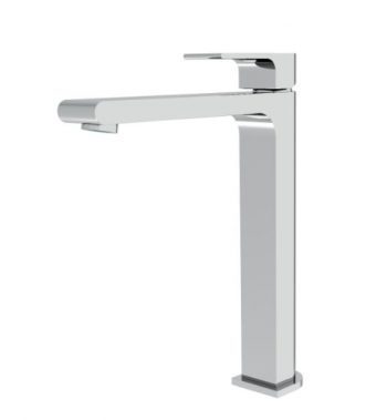 NERO VITRA TALL BASIN MIXER CHROME
