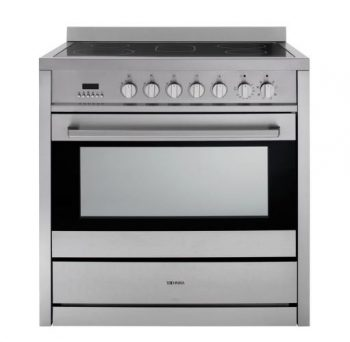 TECHNIKA 90CM FREESTANDING OVEN WITH CERAMIC COOKTOP