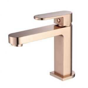 MODERN NATIONAL EVA MINI BASIN MIXER FLEMISH COPPER