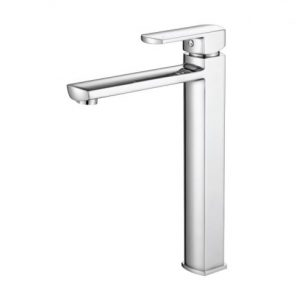 MODERN NATIONAL PEONY TALL BASIN MIXER CHROME