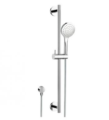 STREAMLINE AXUS SINGLE RAIL SHOWER GUN METAL GREY