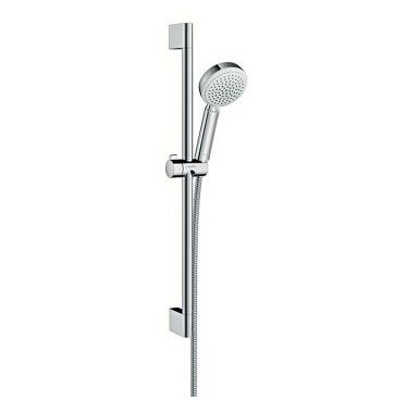 HANSGROHE CROMETTA SHOWER RAIL CHROME/WHITE