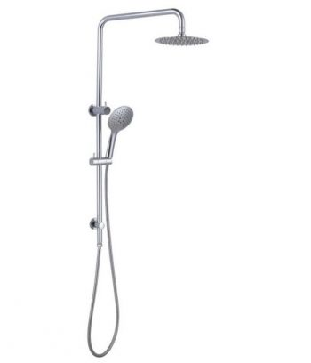 NERO DOLCE/MECCA TWIN SHOWER SYSTEM CHROME