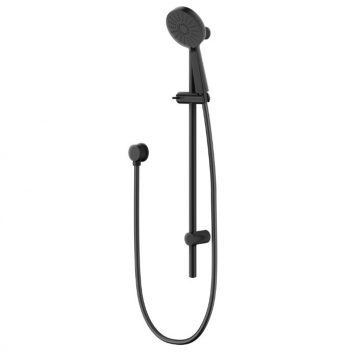 METHVEN KROME 120MM 3 FUNCTION RAIL SHOWER MATTE BLACK