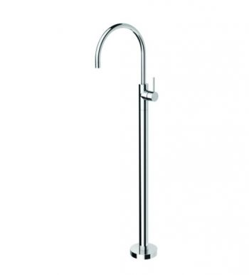STREAMLINE AXUS PIN BATH FILLER SATIN NICKEL