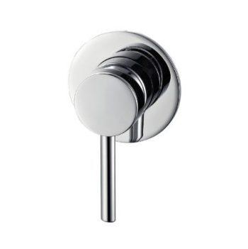 STREAMLINE AXUS PIN WALL MIXER SATIN NICKEL Product Image 1